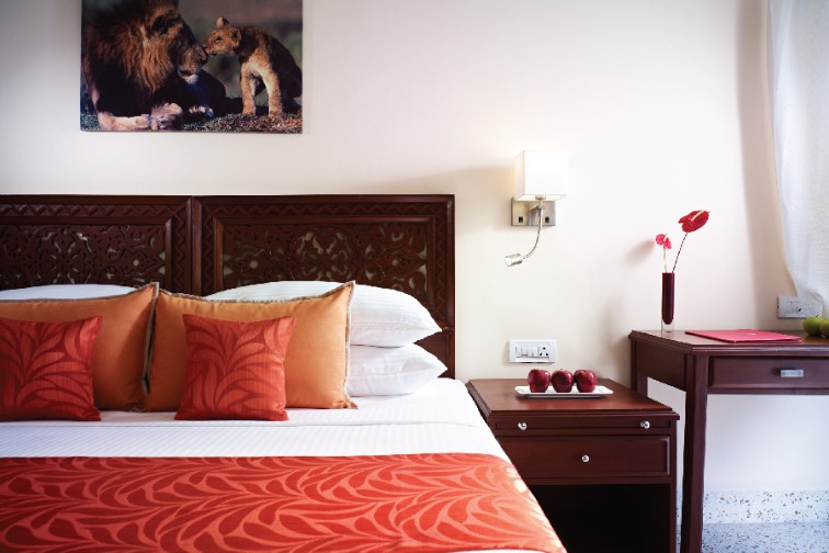 Deluxe Suite with River View at The Gateway Hotel Gir Forest