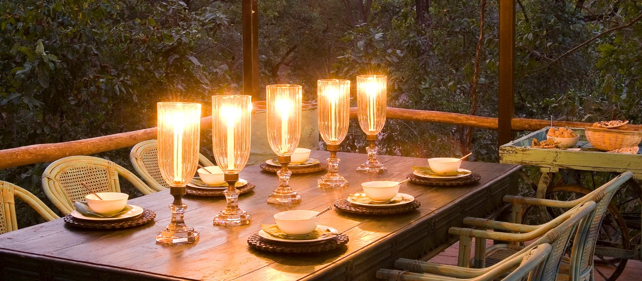 Fine Dining Experiences at Baghvan - Pench National Park