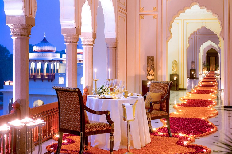 Book a Royal Honeymoon at Taj Rambagh Palace