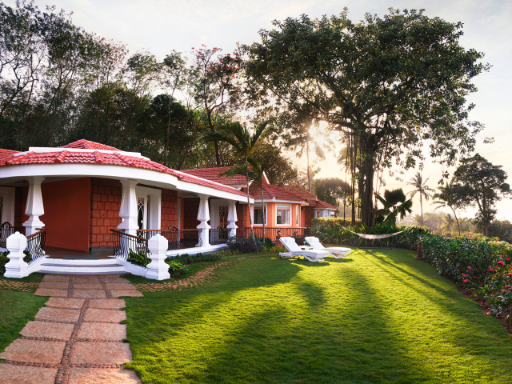 Presidential Villa Exterior at Taj Fort Aguada Resort & Spa, Goa