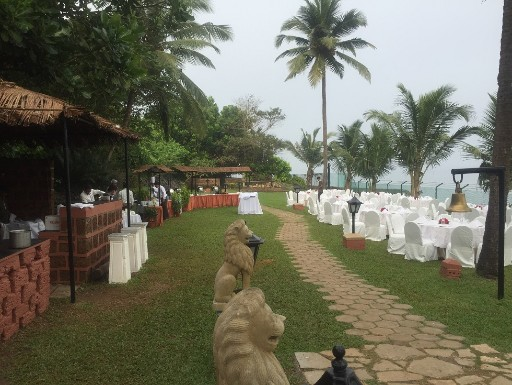 Fishtail Lawns Event Venue at Taj Fort Aguada Resort & Spa, Goa