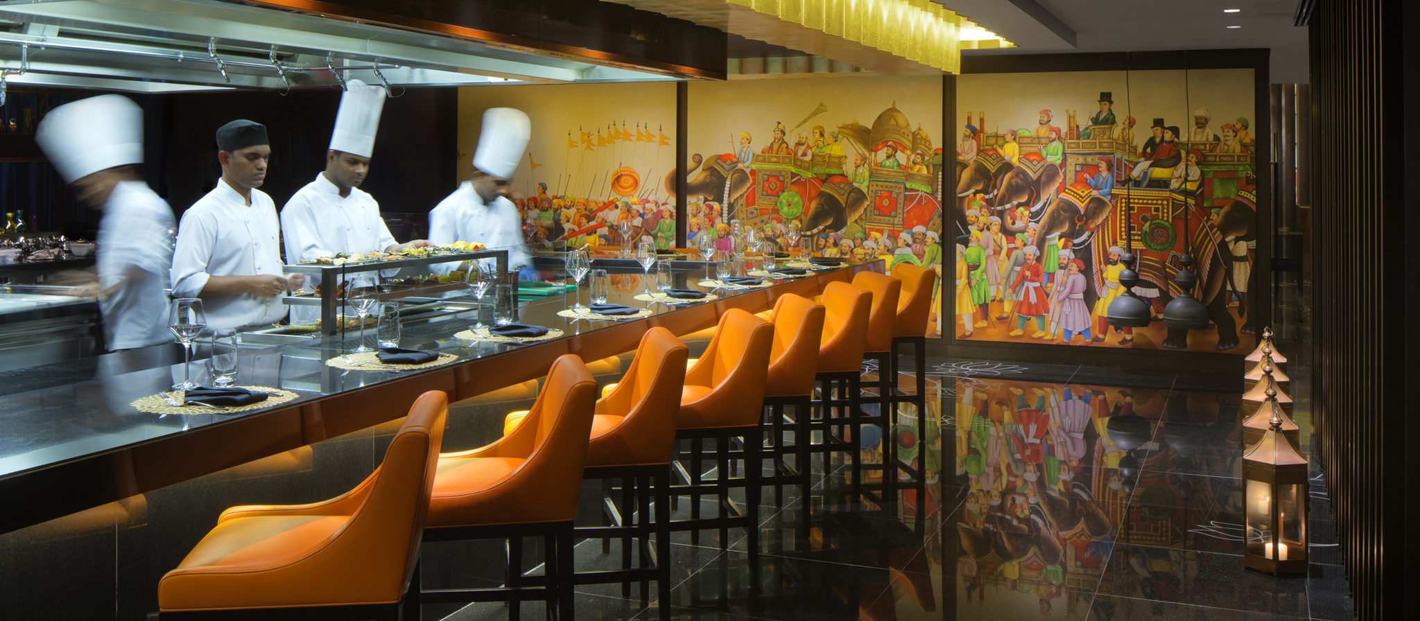 Fine Indian Dining Restaurants - Taj Dubai - 2