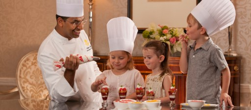 Chef Engaging Kids at Taj West End16x7