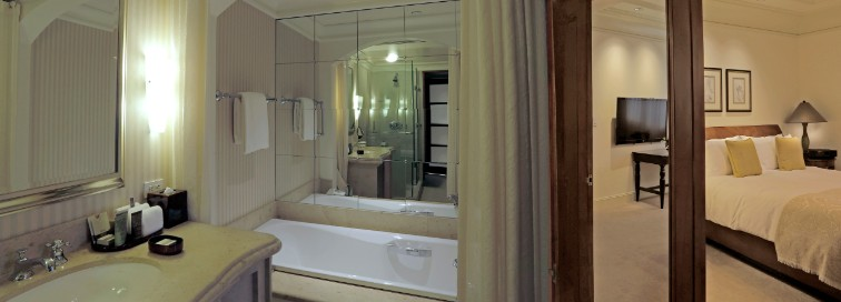 Master Bathroom and Luxury Rooms