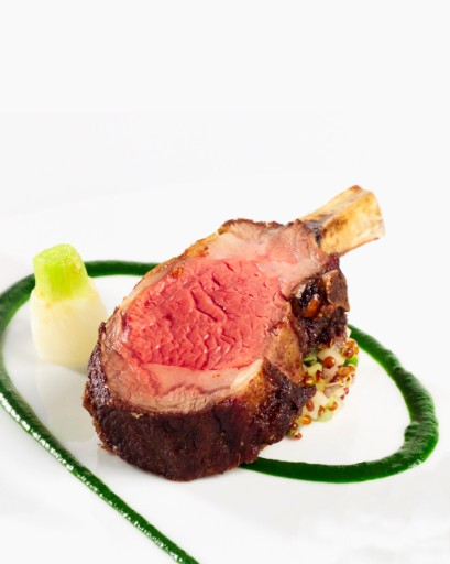 Lamb at Taj Restaurants