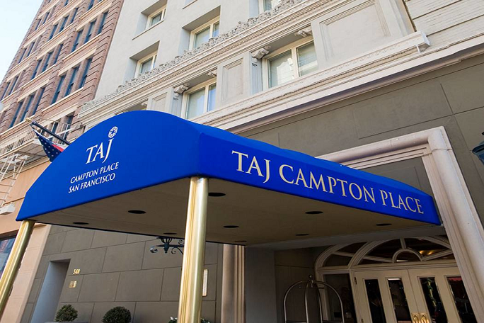 Taj Campton Place Main Entrance