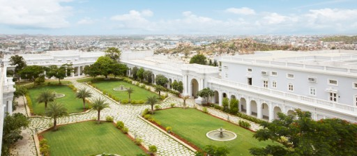 Exterior Courtyards at Taj Falaknuma Palace, Hyderabad