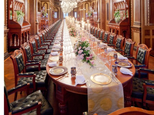 Royal Dining in Hyderabad at Taj Falaknuma Palace, Hyderabad