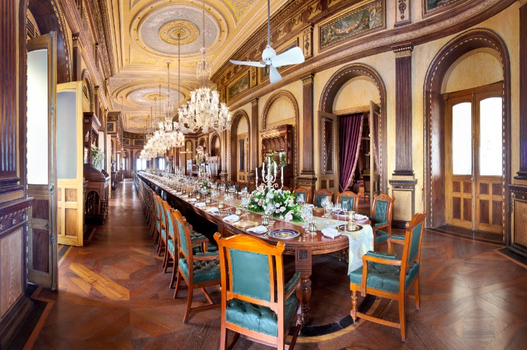 Unique Dining in Hyderabad at Taj Falaknuma Palace, Hyderabad