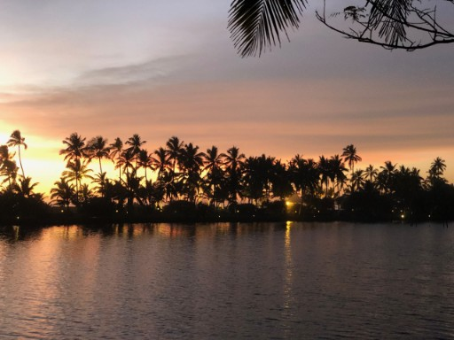 Exotic Sunset View from Backwaters near Taj Green Cove Resort & Spa, Kovalam