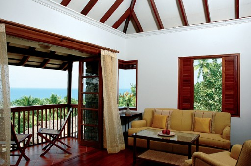 Luxury Deluxe Suite with Sea View at Taj Green Cove Resort & Spa, Kovalam