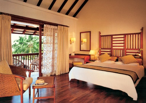 Bedroom at Superior Cottage With Sea View at Taj Green Cove Resort & Spa, Kovalam
