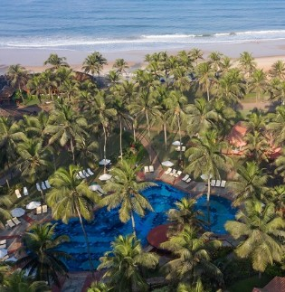Aerial View of Luxury Resort in Goa at Taj Holiday Village Resort & Spa, Goa
