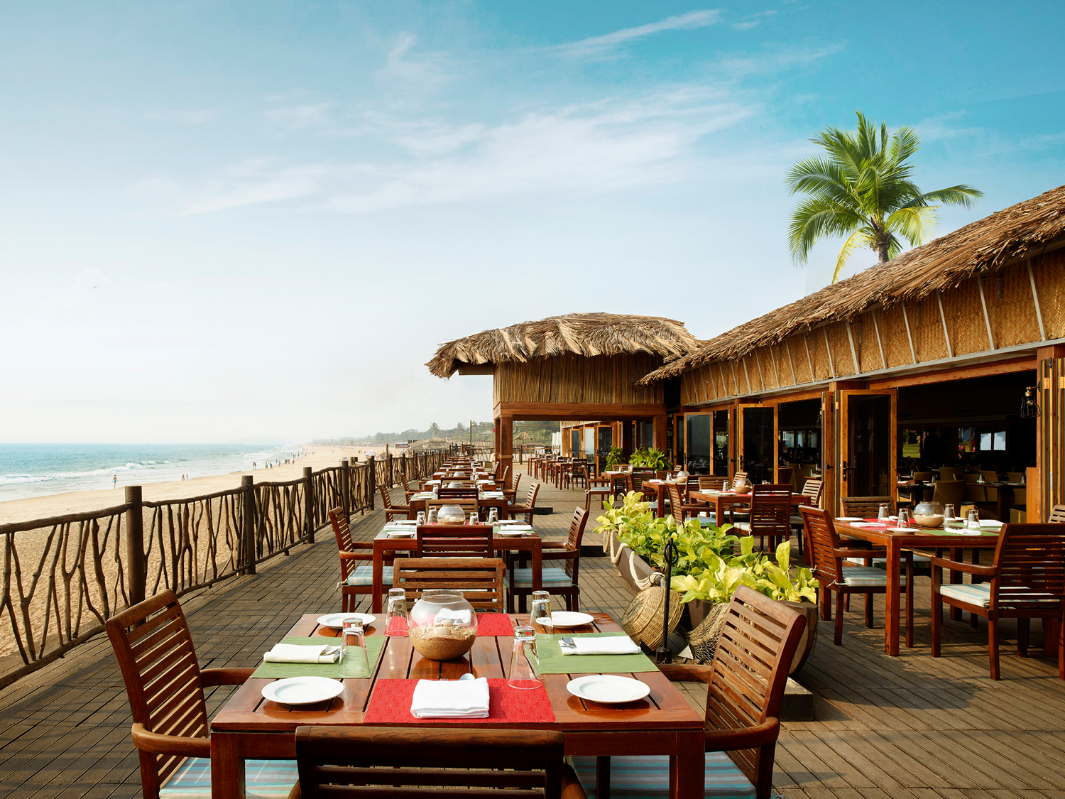 Caravela Restaurant - Taj Holiday Village Goa