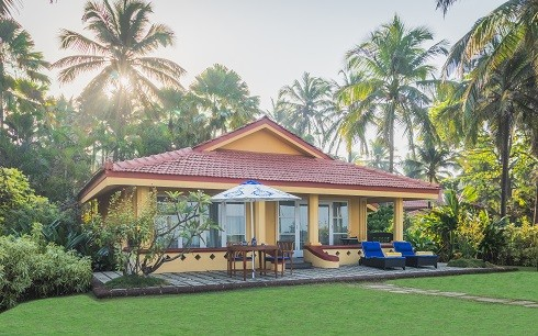 Luxury Goan Villa Sea View Exterior