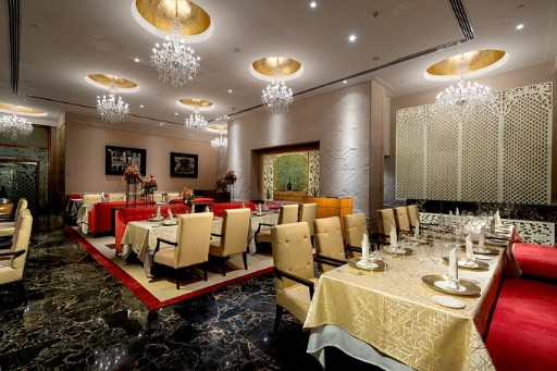 Firdaus Restaurant at Taj Krishna, Hyderabad
