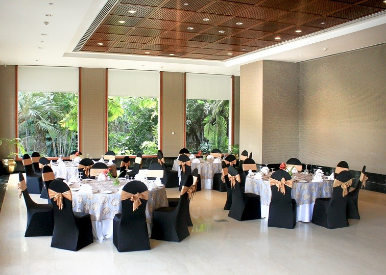 The Garden Room - Event Venue in Hyderabad at Taj Krishna, Hyderabad