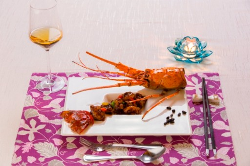 Lobster at Golden Dragon Restaurant at Taj Krishna-3x2