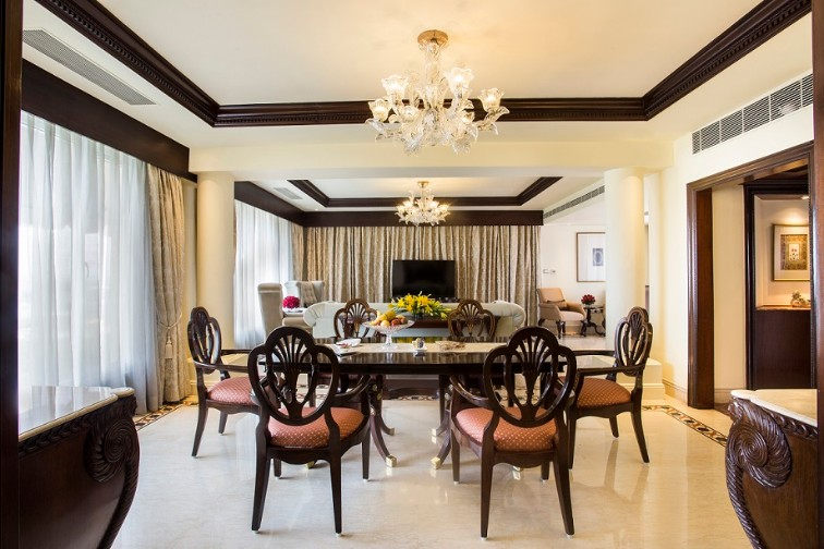 Presidential Suite Dining Area - Taj Krishna, Hyderabad