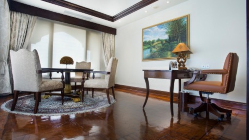 Presidential Suite Study Room - Taj Krishna, Hyderabad
