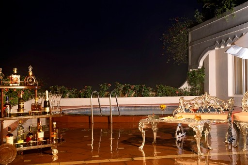 Presidential Suite Plunge Pool - Taj Krishna, Hyderabad