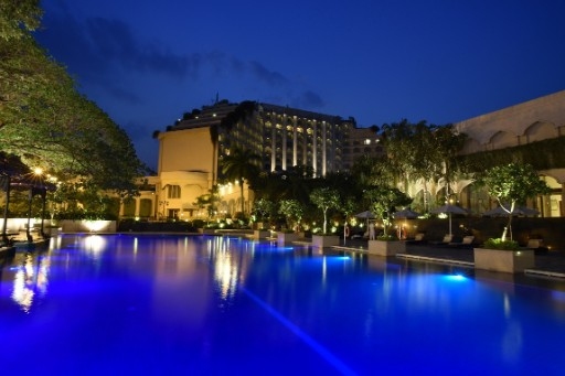 Swimming Pool View - Taj Krishna, Hyderabad