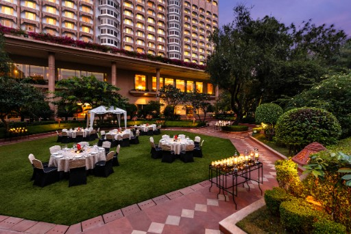 Poolside Lawns at The Taj Mahal Hotel New Delhi