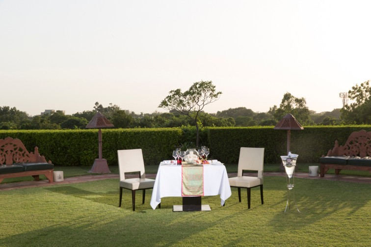 Alfresco at The Taj Mahal Hotel New Delhi