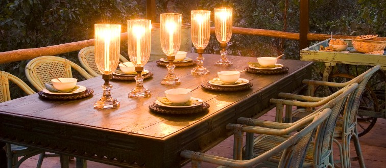 Unique Dining Experiences at Baghvan - Pench National Park