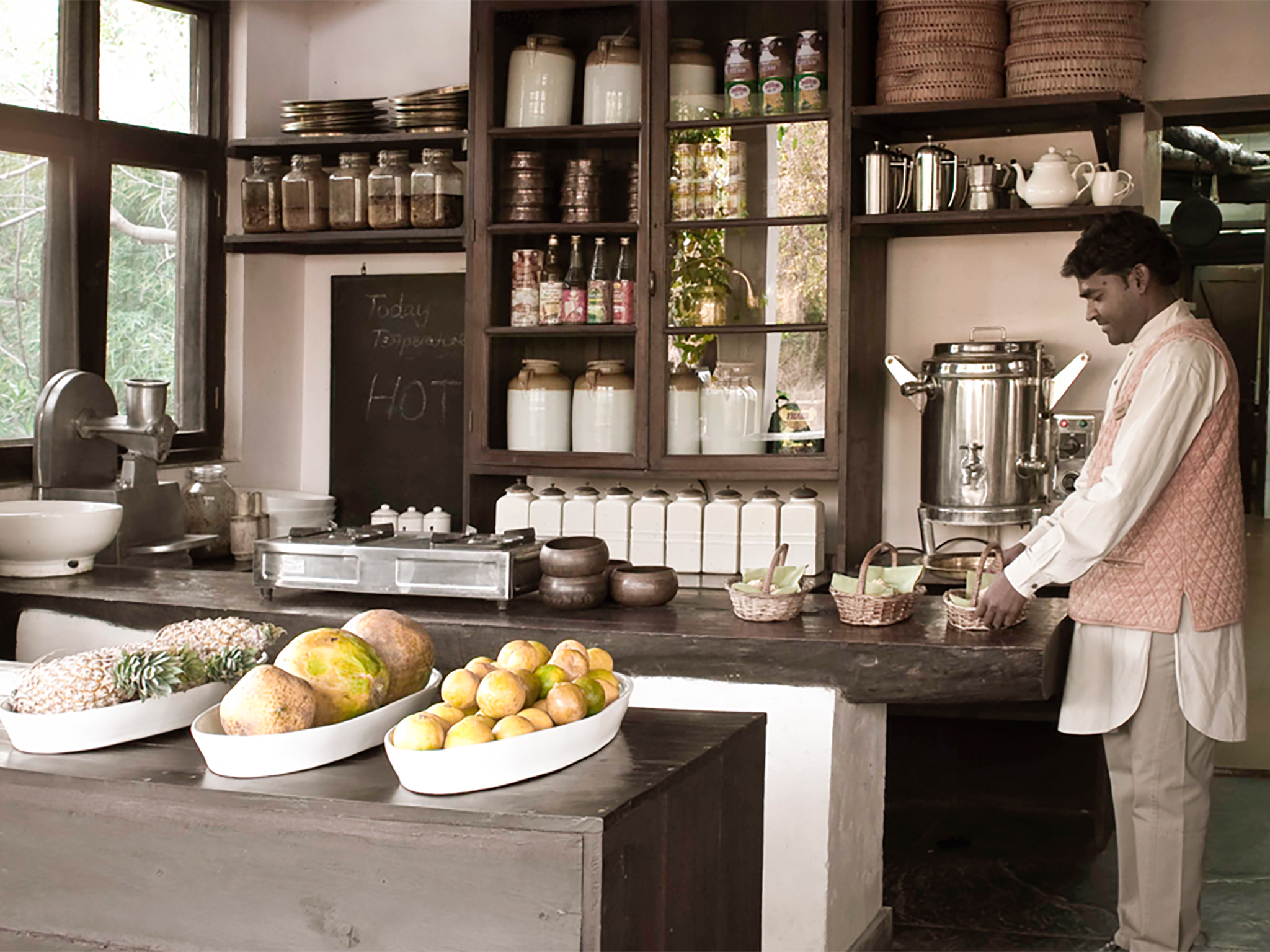 Interactive Culinary Sessions at Mahua Kothi, a Taj Safari Lodge