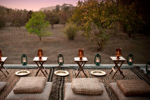 Chawki Dining Experience at Mahua Kothi Lodge