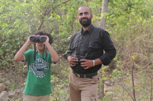 Wildlife viewing for kids by Taj Safaris 3x2