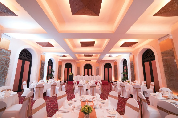 Crystal Ballroom at Taj Samudra, Colombo