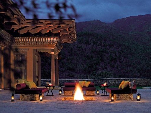 Outdoor Bonfire Activity at Taj Tashi, Thimphu
