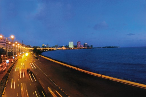 Visit Marine Drive in Mumbai during your stay at Taj
