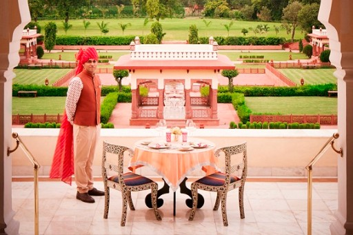 Crystal Suite Sit Out Area - Jai Mahal Palace, Jaipur