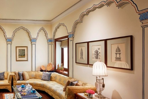 Luxury Suite Living Room - Jai Mahal Palace, Jaipur