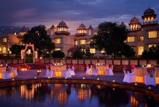 Wedding Lawns in Jaipur at Jai Mahal Palace, Jaipur