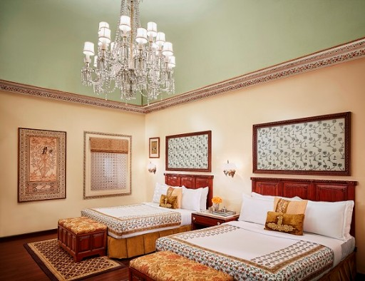 Crystal Suite Bedroom View - Jai Mahal Palace, Jaipur