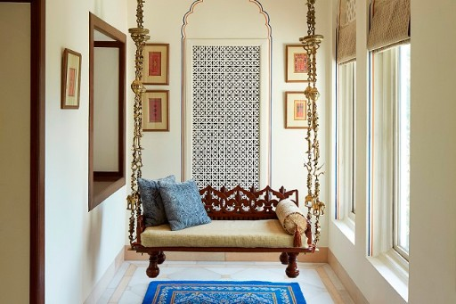 Seating Area at Jai Mahal Palace, Jaipur