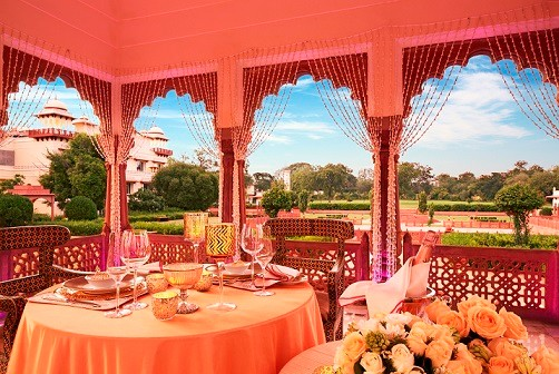 Romantic Dining at Jai Mahal Palace, Jaipur