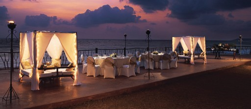 Romantic Dinner at Sunset Deck - Taj Holiday Village Goa-16x7