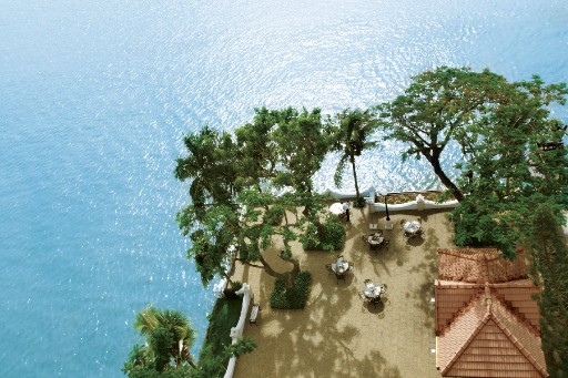 Aerial View of Dolphin's Point at Taj Malabar Resort & Spa, Cochin