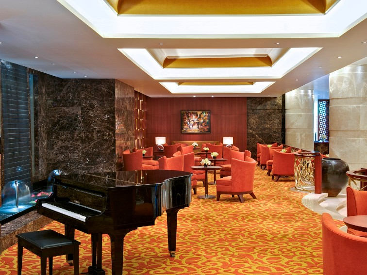 Tea Lounge at Taj Coromandel, Chennai