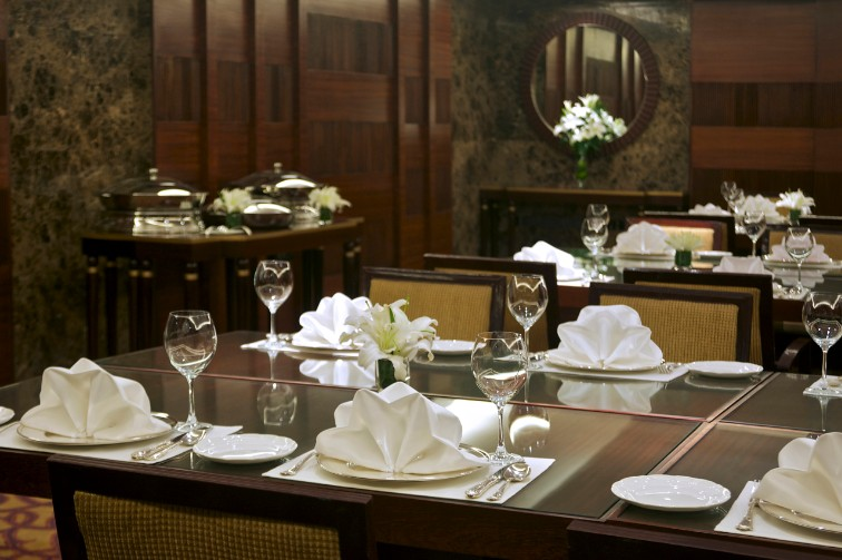 Luxury dining at Taj Coromandel
