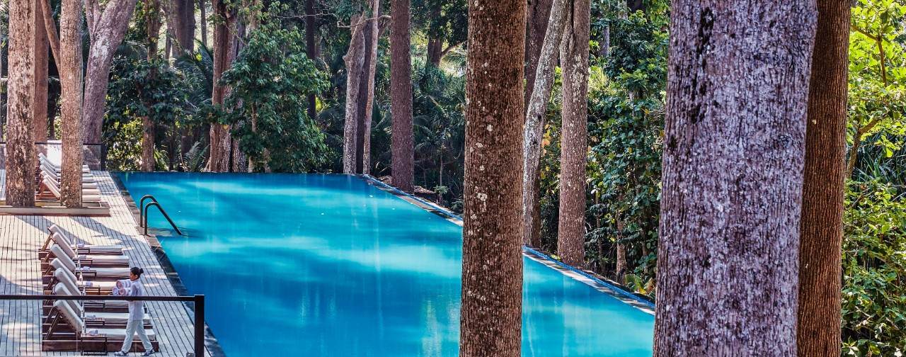 Swimming Pool View - Taj Exotica Resort & Spa, Andamans