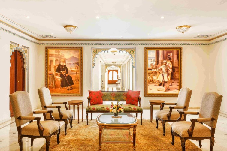 Gallery at Taj Fateh Prakash Palace, our Luxury Hotel in Udaipur