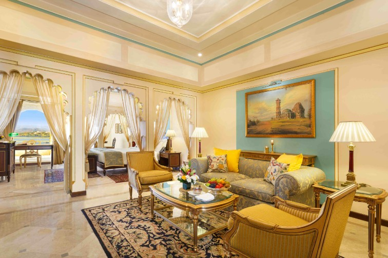 The Grand Luxury Suite at Taj Fateh Prakash Palace, our Luxury Hotel in Udaipur