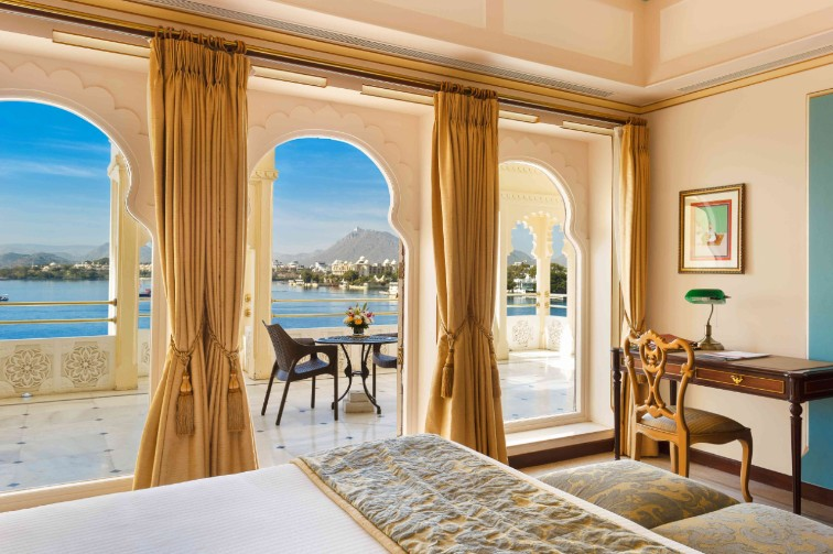Scenic View From Luxury Suite at Taj Fateh Prakash Palace, our Luxury Hotel in Udaipur