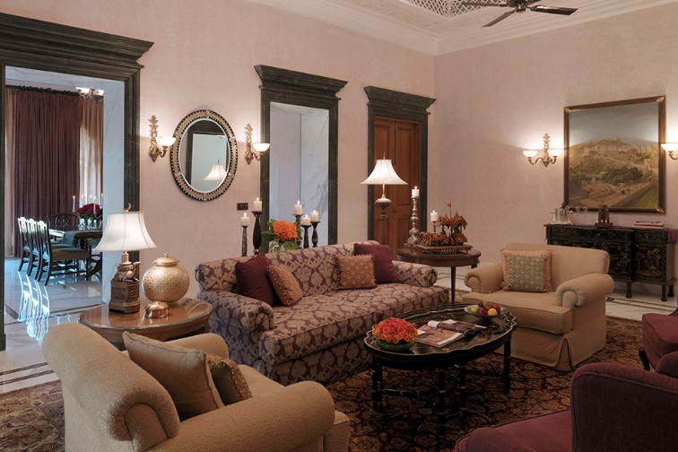 Grand Presidential Suites in jaipur at Rambagh Palace, Jaipur